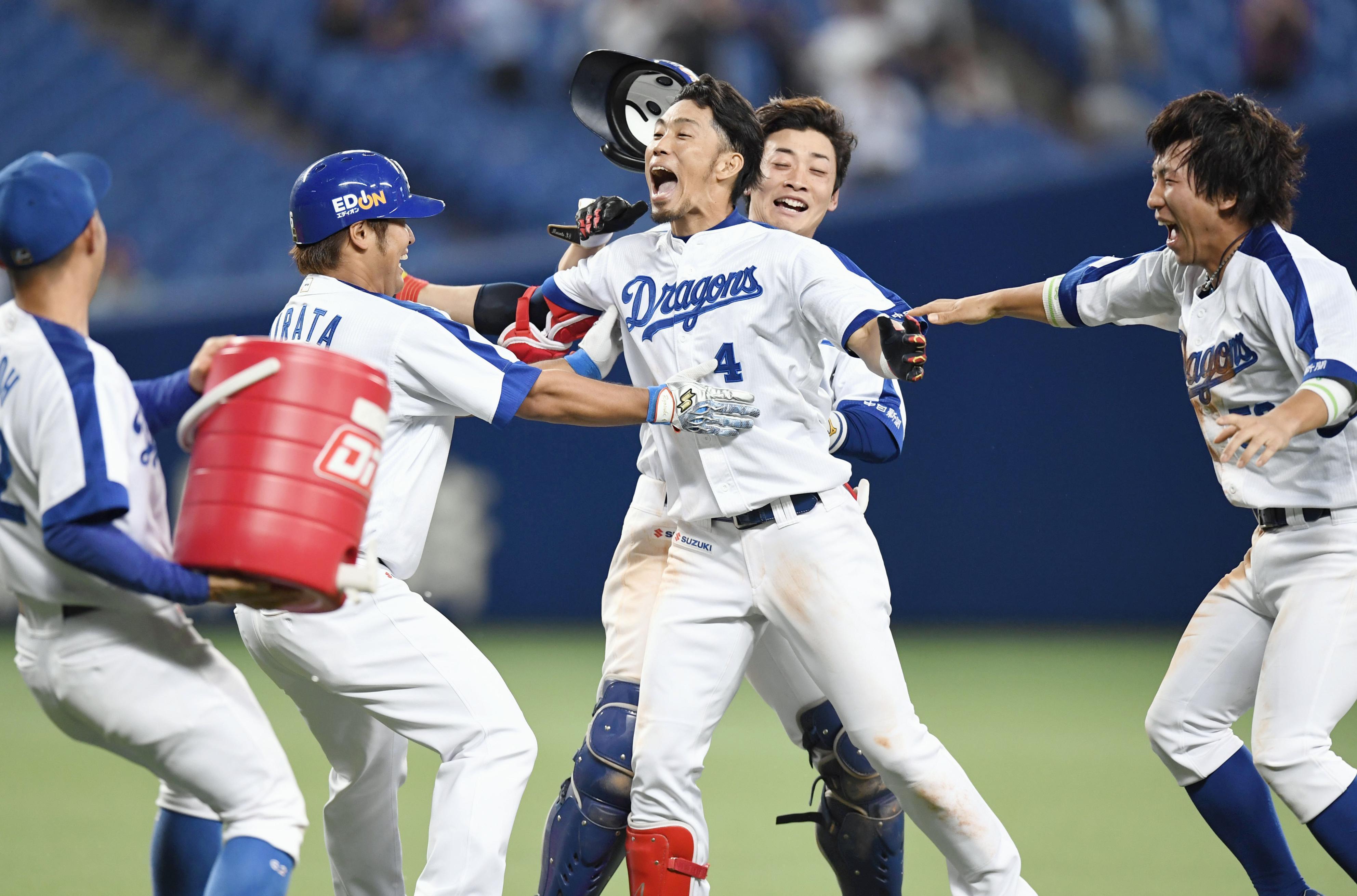 BASEBALL GATE              プロ野球            9回2死から劇的逆転劇!中日がサヨナラ勝ち!