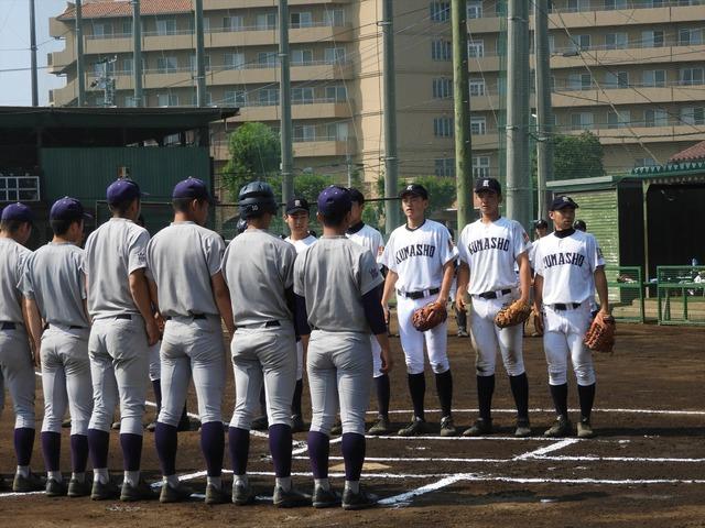the inside 高校野球名門校のグラウンドの佇まい 埼玉県立熊谷商の空気