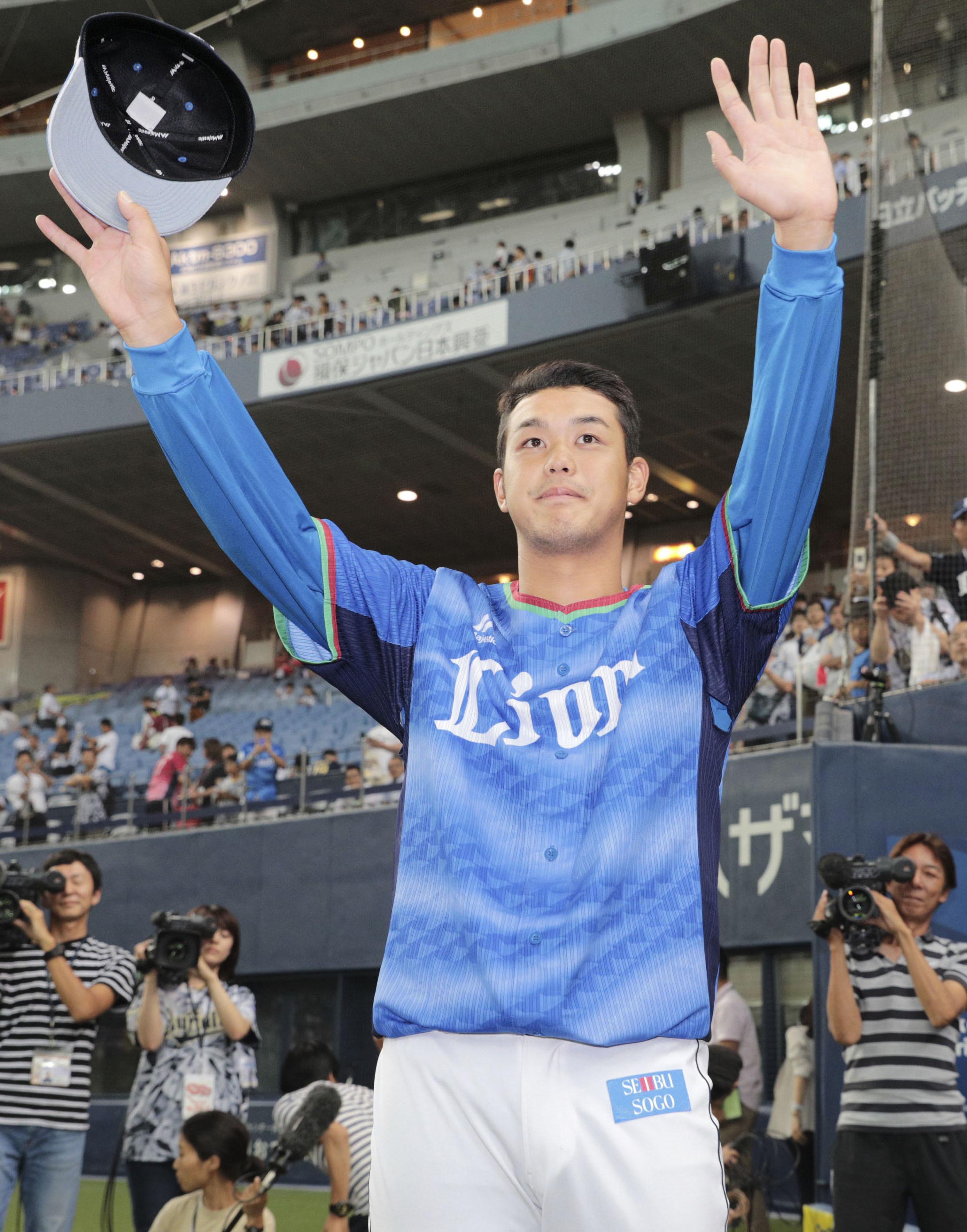 BASEBALL GATE              プロ野球            甲子園V腕が復活!埼玉西武・髙橋光成が今季初勝利!