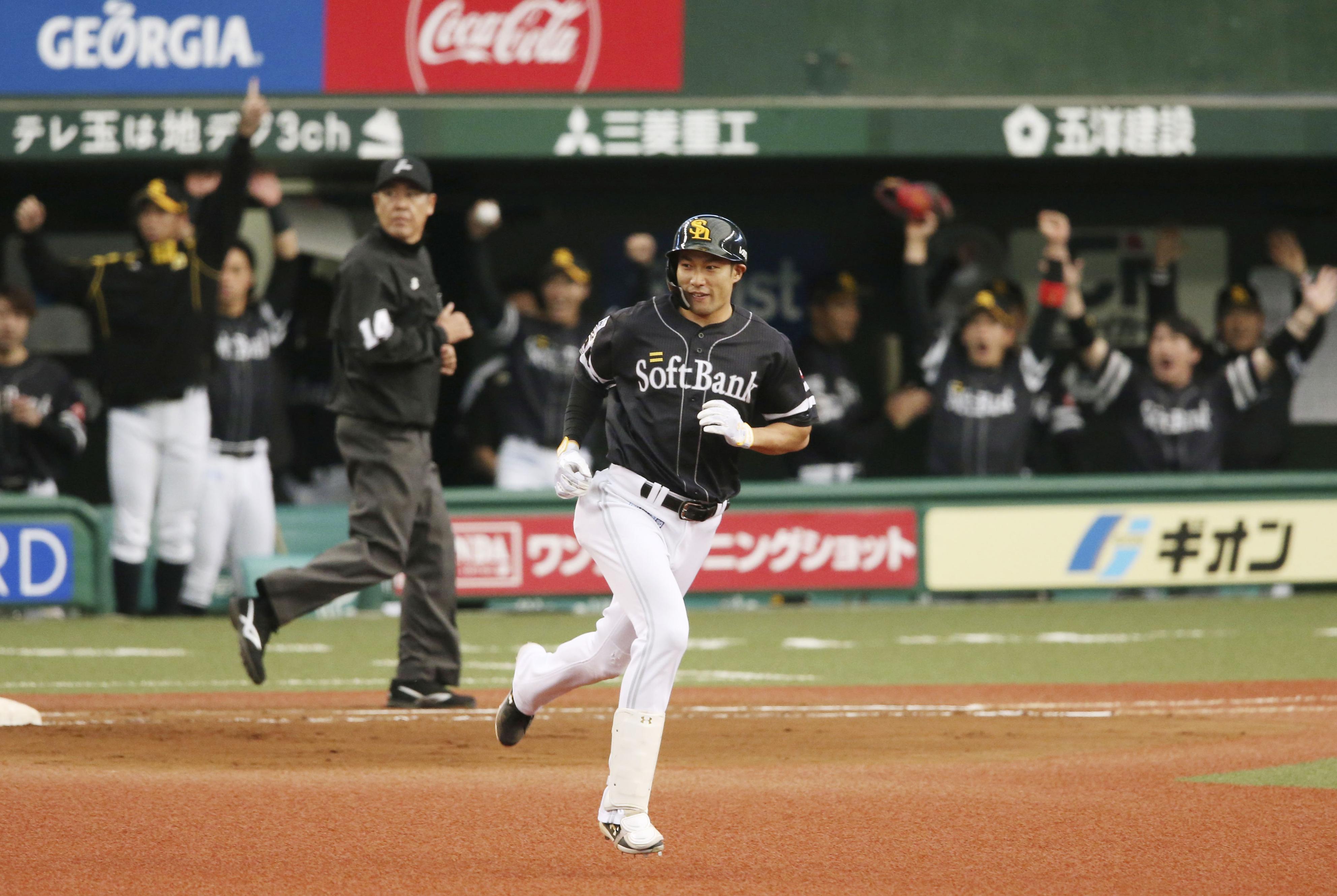 2戦連発で4打点!福岡ソフトバンク・柳田が連日の爆発でMVPを受賞!
