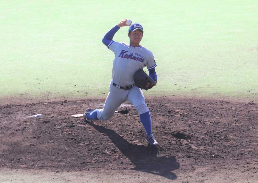 関西国際大、第1代表決定戦へ 石田がロングリリーフで好投