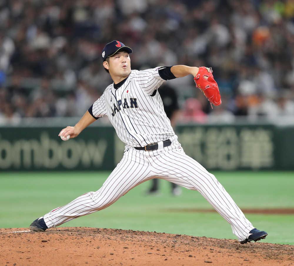 【日米野球隠しマイク】広島・岡田 親交のある侍戦士は「大地さんですかね…」