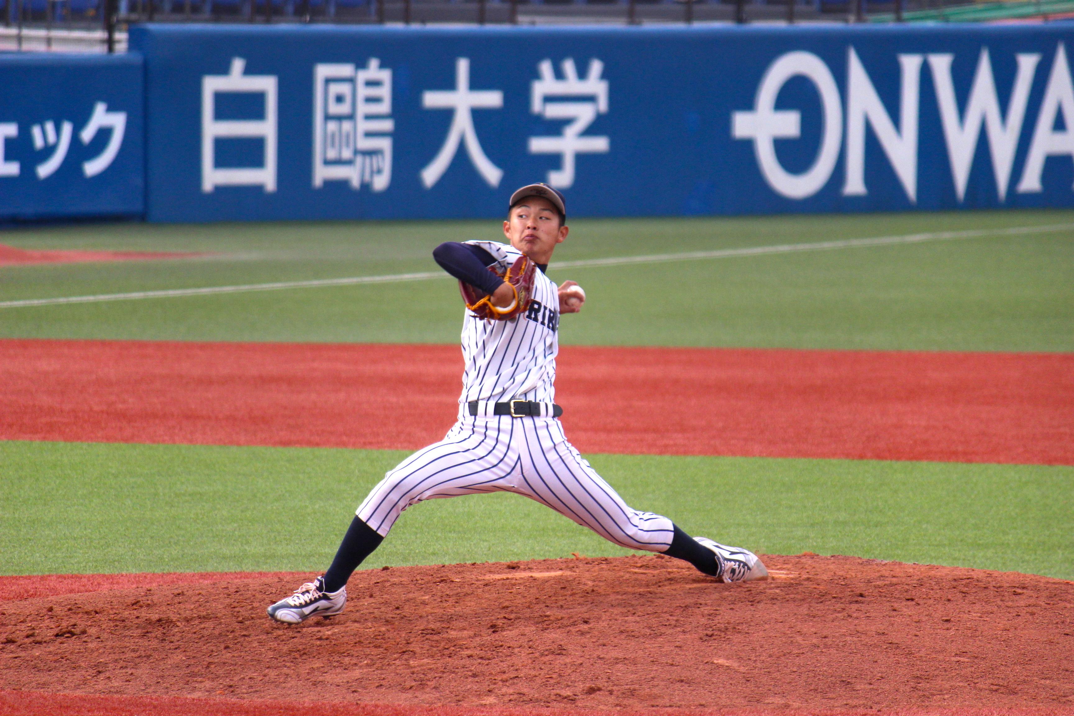 田中誠也(たなか・せいや)・・1997年10月27日生まれ。大阪府大東市出身。四条北ヤンキース(軟式)→生駒ボーイズ(硬式)→大阪桐蔭→立教大4年。173cm68kg。左投左打。