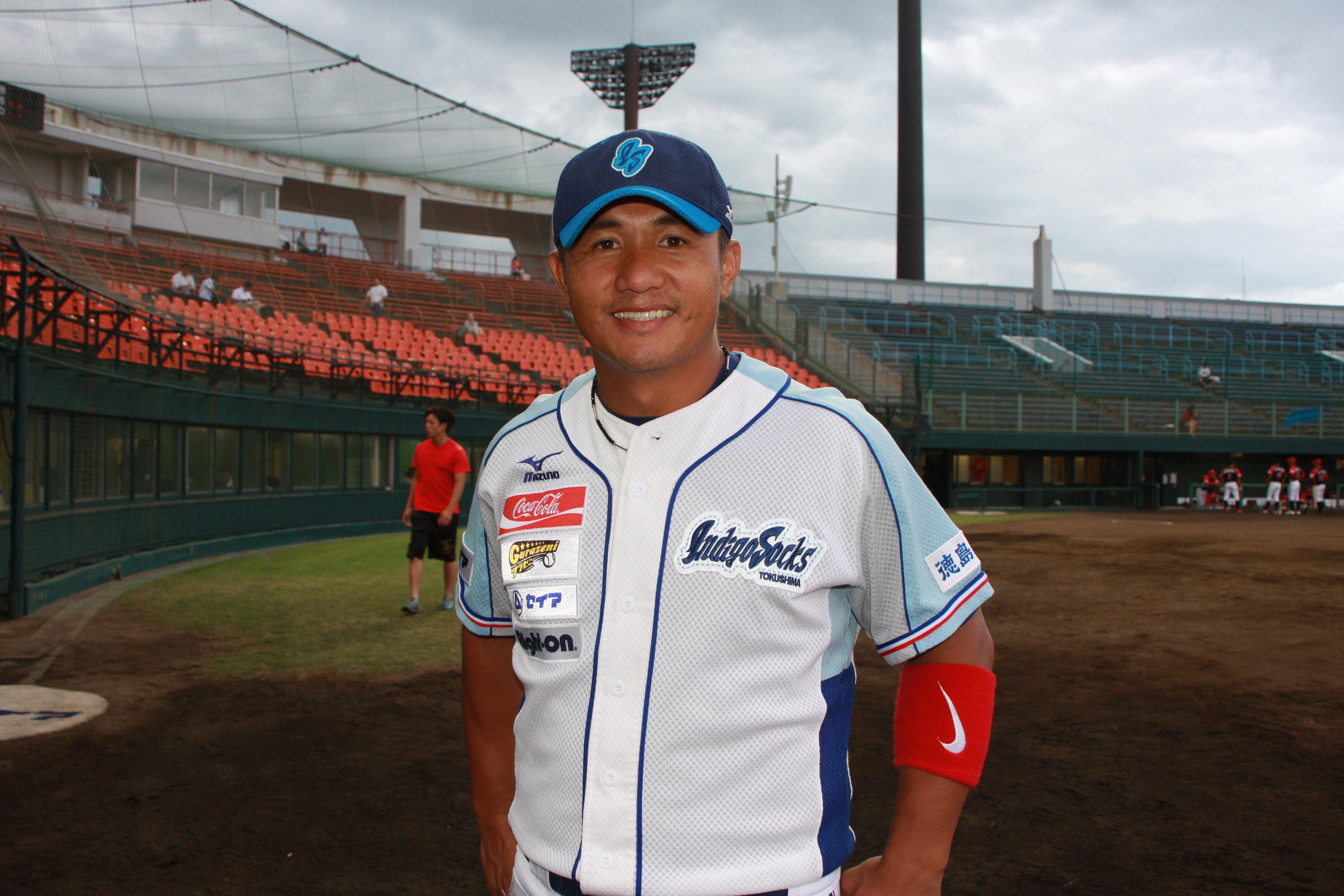 台湾球界史上最高の289本塁打を残したレジェンド・張泰山は、プロキャリアの最期を日本の独立リーグで過ごした。