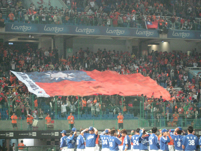 日本から伝わった「棒球」は、台湾にとって国威発揚のツールとなっている(2011年アジアシリーズ, 桃園球場)