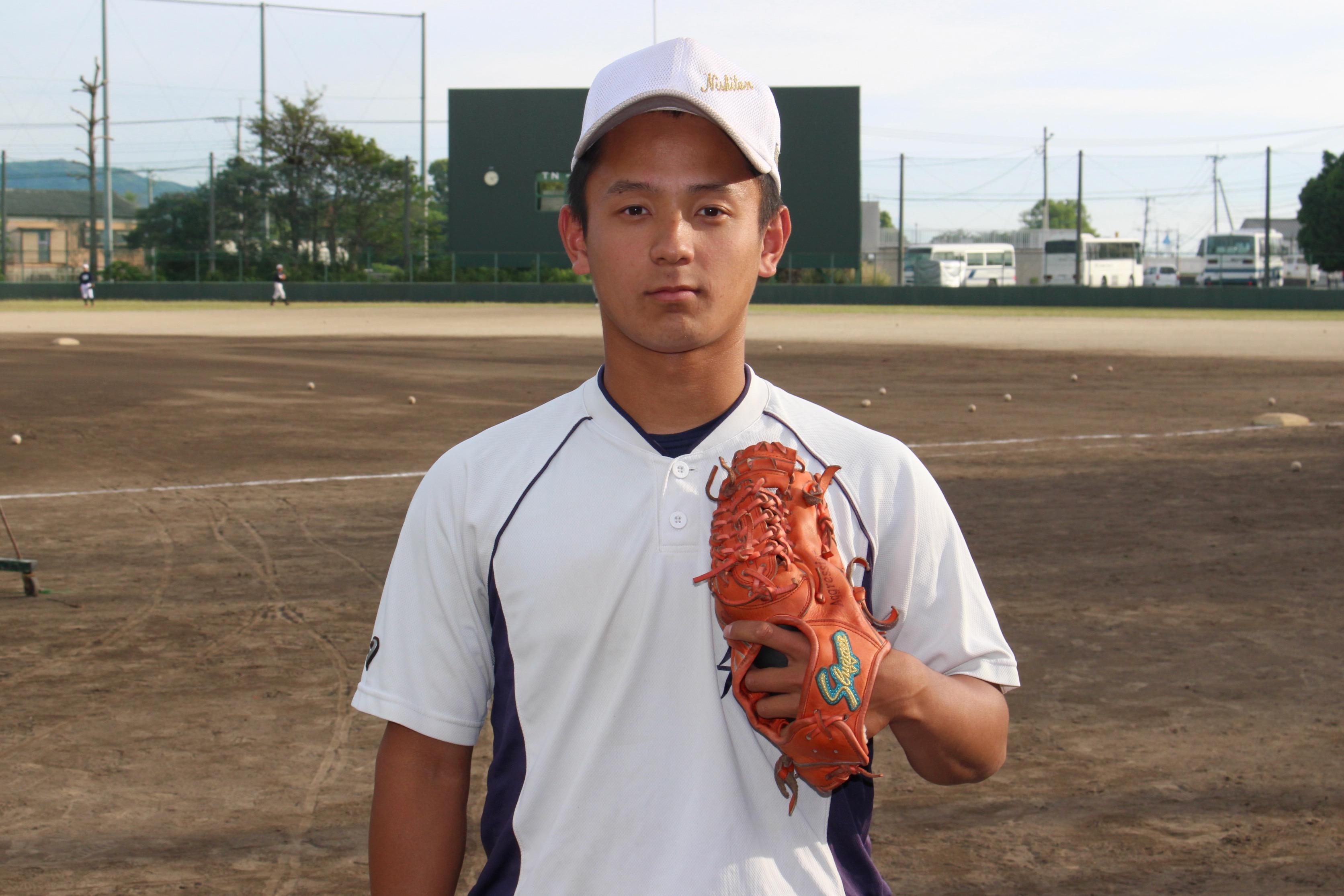 近藤大樹(こんどう・だいき)・・・2001年9月5日生まれ。福岡県飯塚市出身。嘉麻ボーイズ(硬式/ポニーリーグ)→西日本短大附高3年。170cm70kg。右投右打。内野手。