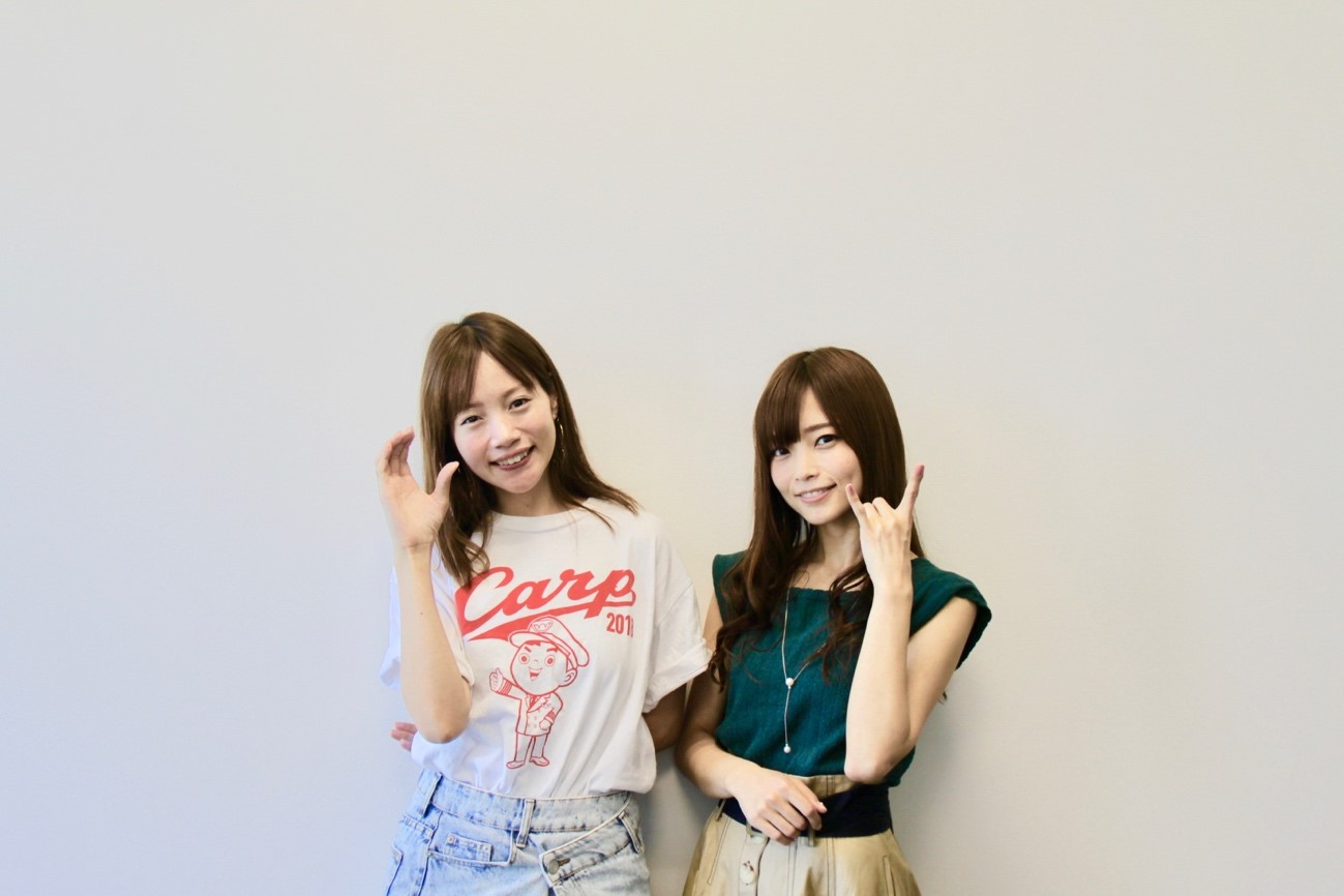 立花理香&古田ちさこの2人のツーショット写真01