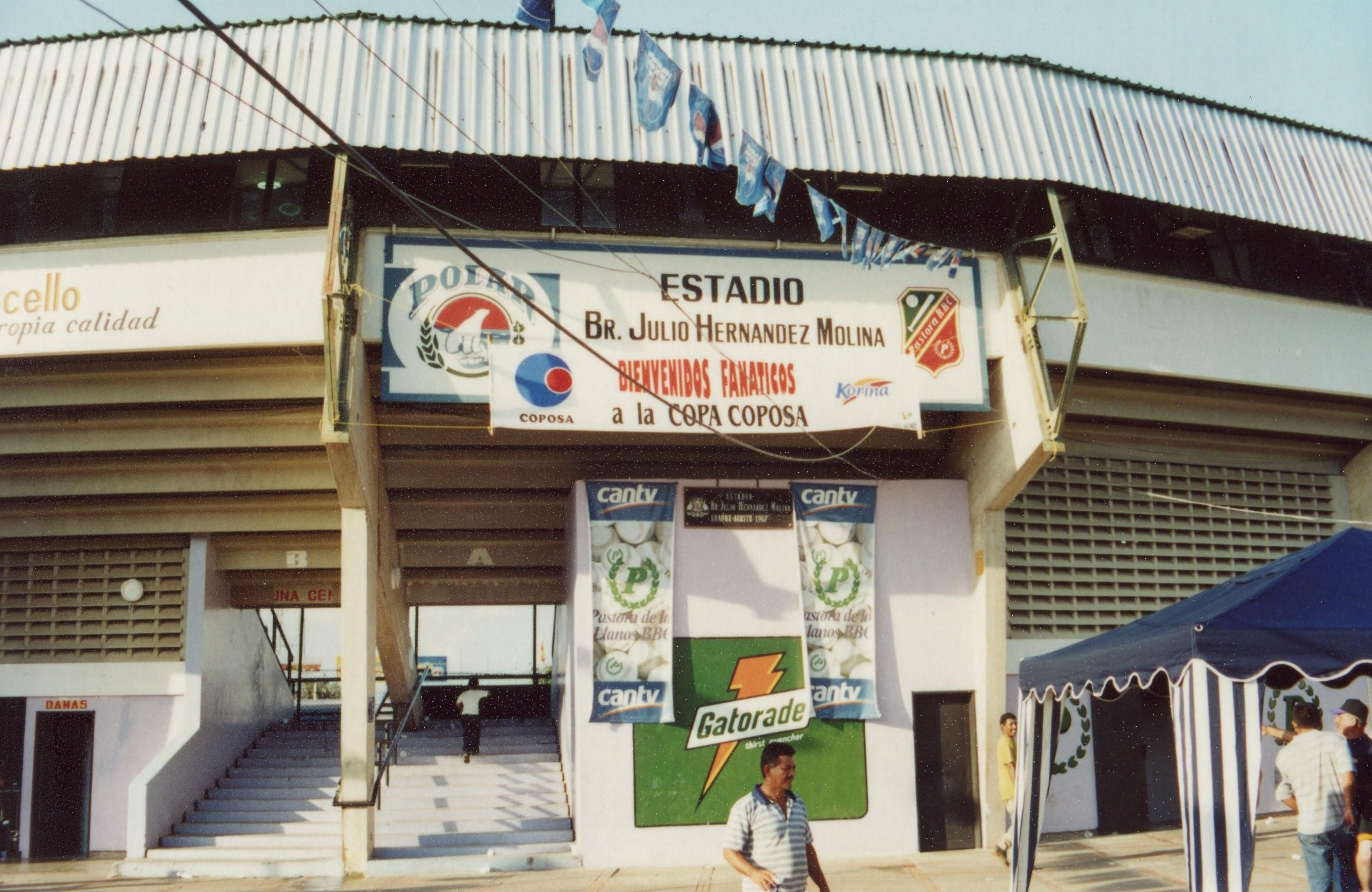 日本で活躍したアレックス・カブレラもプレーした今はなきロスリャノス・パストラの本拠アラウレの球場