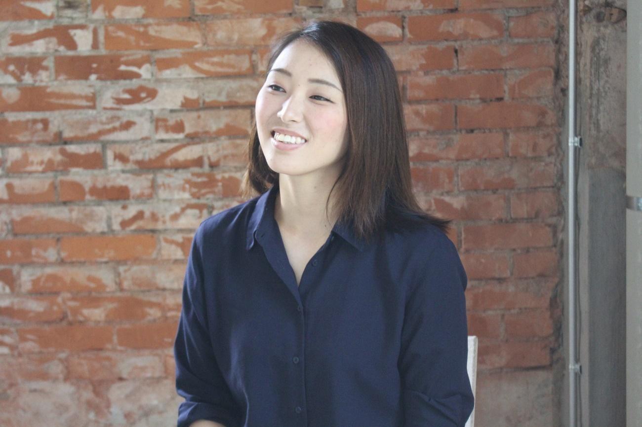 DeNAベイスターズの球団職員として勤務している甲斐綾乃さん03