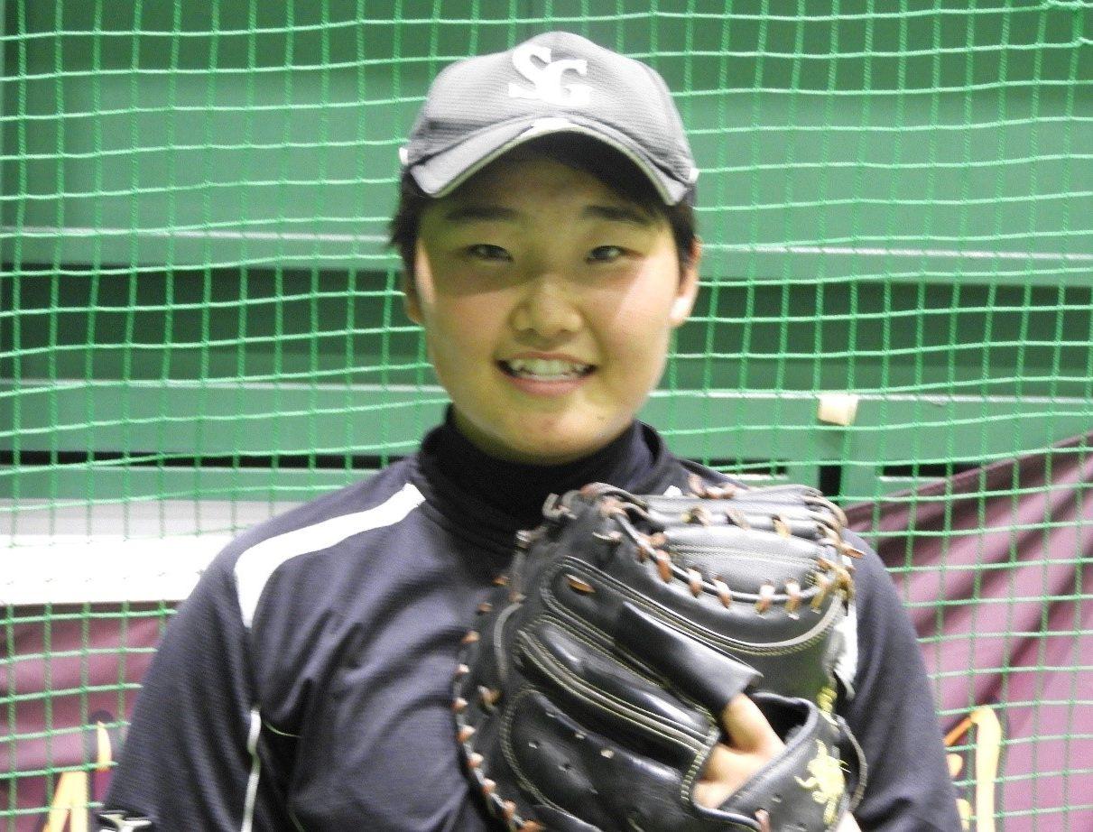 作新学院女子野球部 主将 生井美桜(なまい みさき)さん