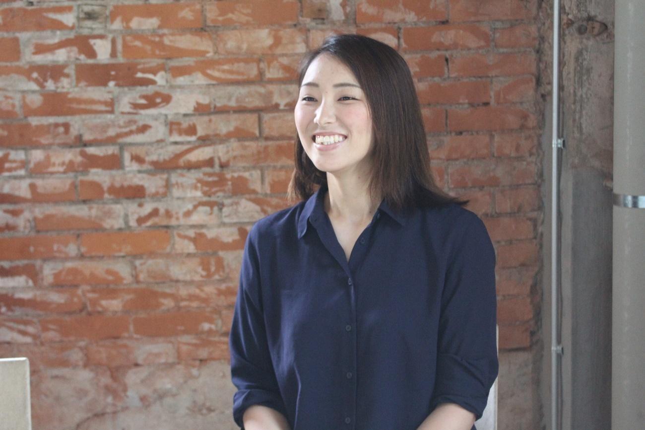 DeNAベイスターズの球団職員として勤務している甲斐綾乃さん02