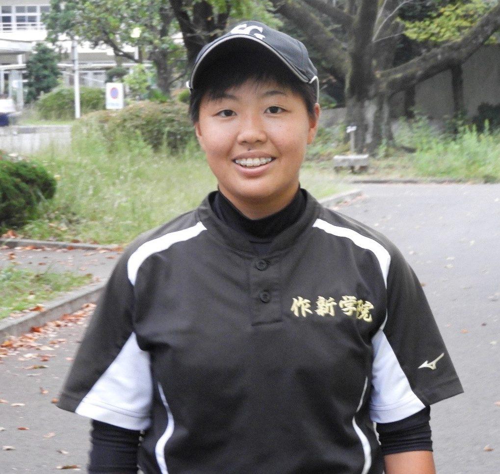 【作新学院女子・海老沼桃さん】