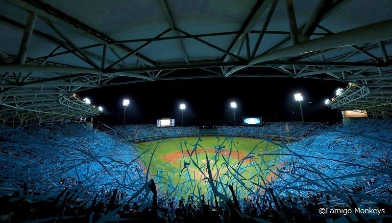 球場の写真