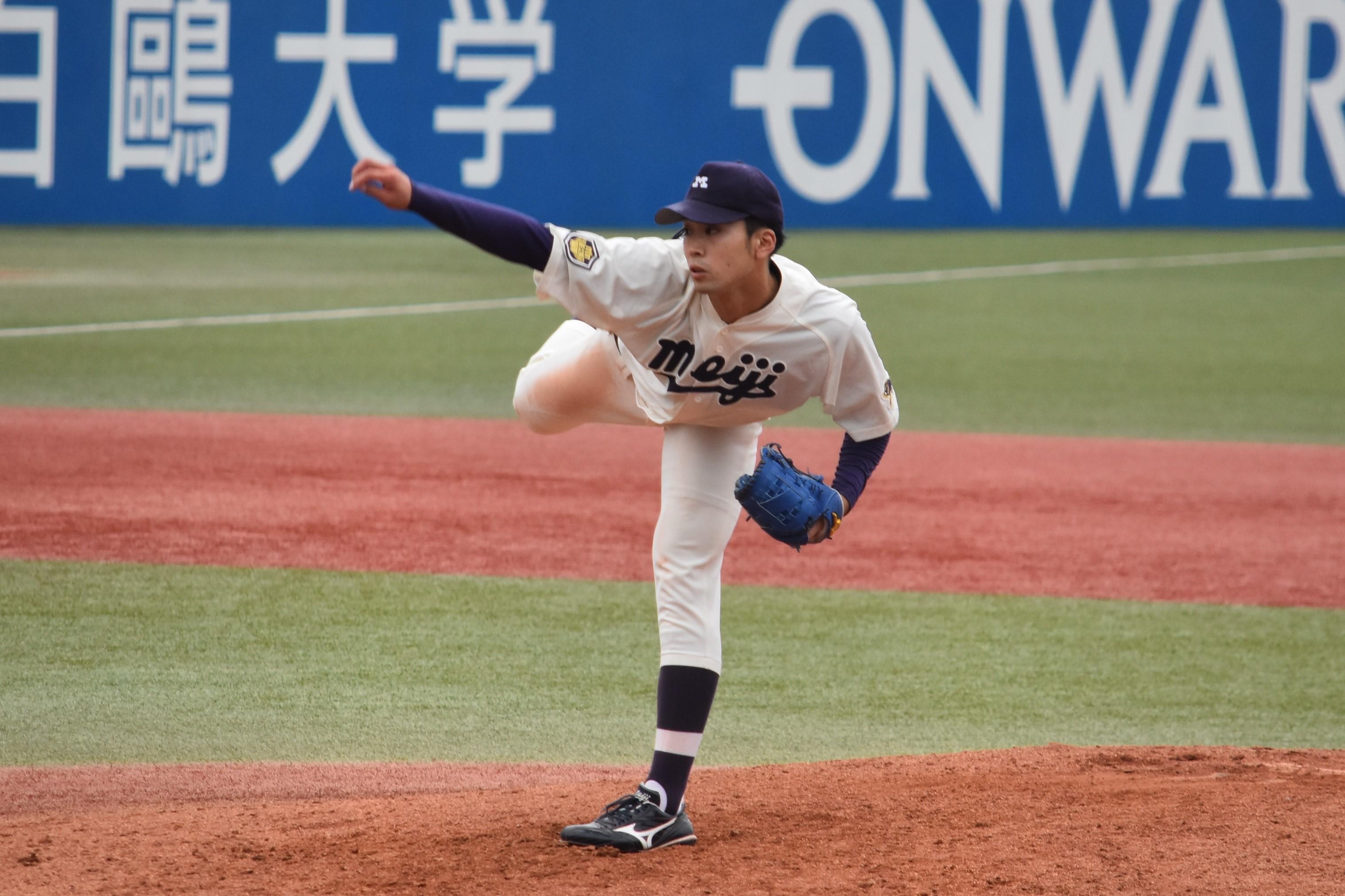 ドラフト候補の両エース、入江大生と木澤尚文の投げ合いは慶大が9回に ...